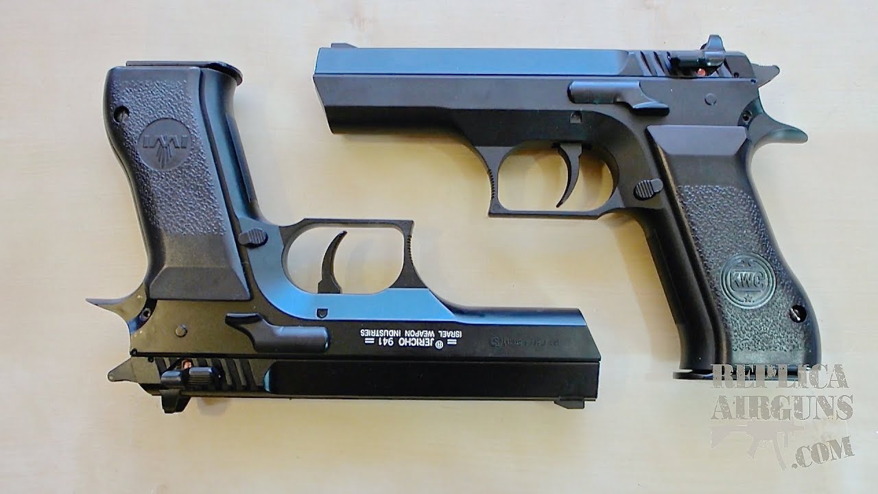 KWC Model 941 (Jericho) CO2 Airsoft Pistol Table Top Review