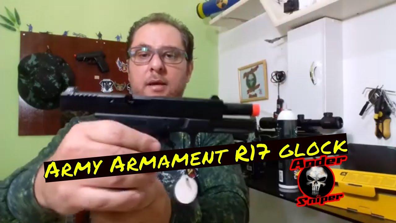 Critique du pistolet Glock R17 | Armement militaire | Walk Sniper Airsoft