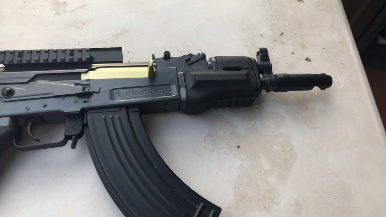 REVUE DES Pistolets airsoft GF76 AEG