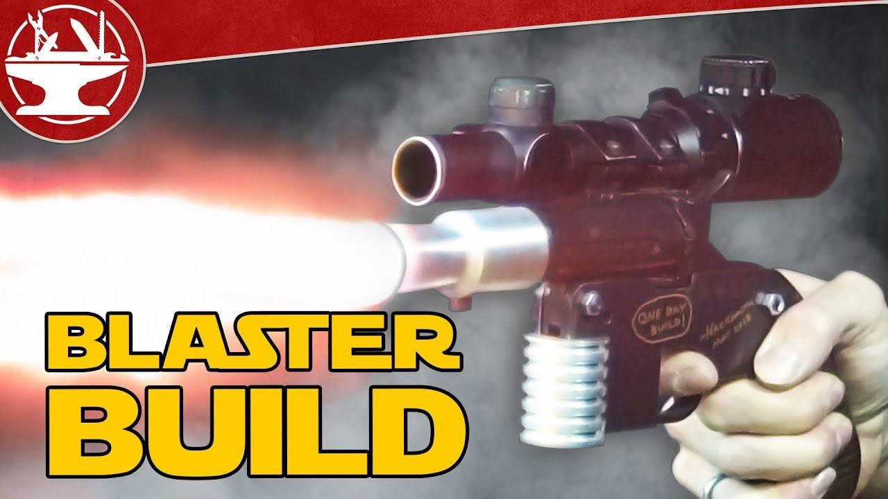 Construire Han Solo & # 39; s Blaster! (ÇA MARCHE)