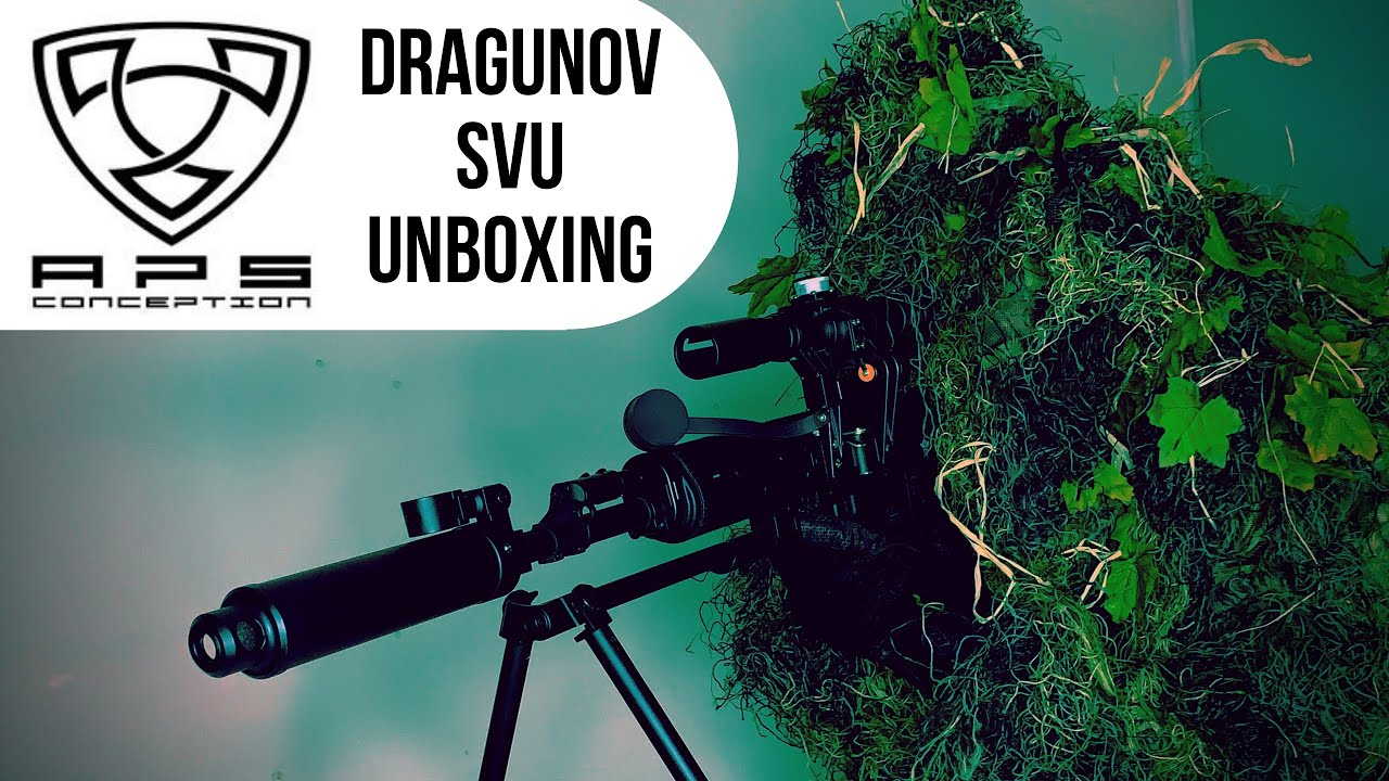 FUSIL SNIPER DRAGUNOV OTs-03 SVU PAR ASP. AIRSOFT DMR?