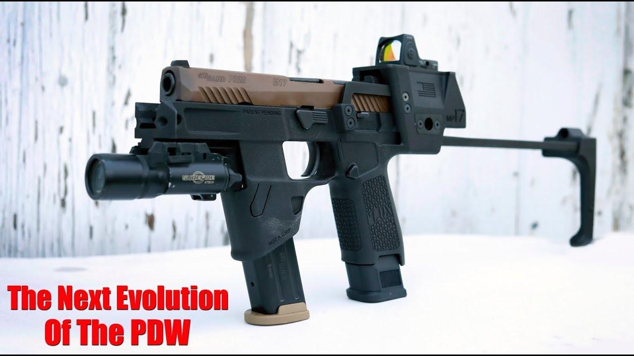 Système de renfort de pistolet Flux Defense MP17: Sig Sauer M17 & P320