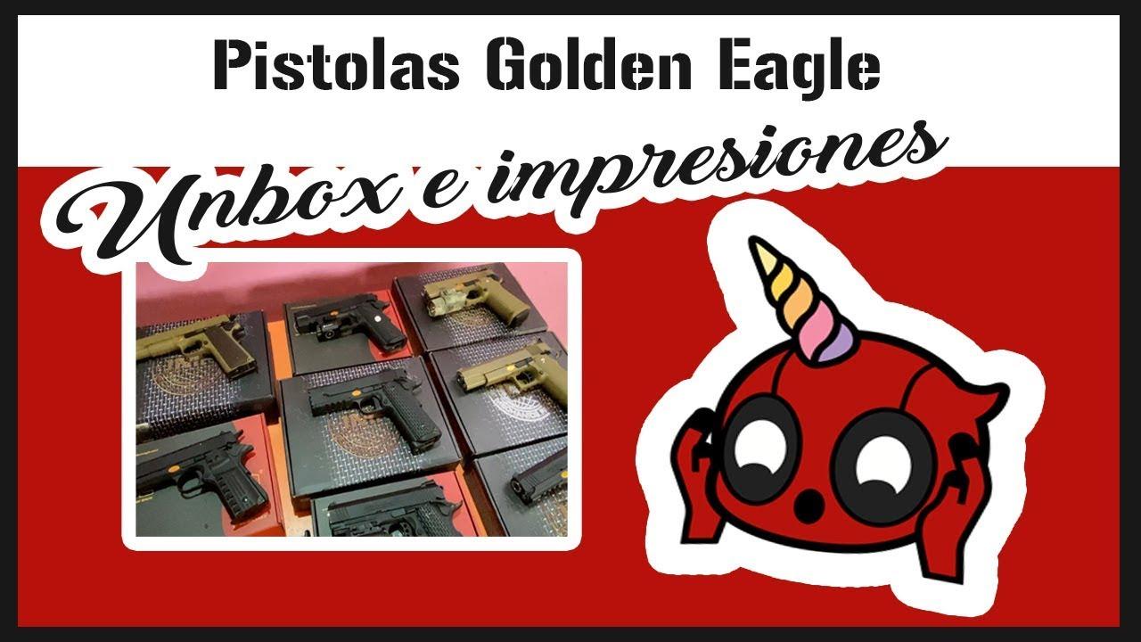 AVIS D'AIRSOFT – Golden Eagle Guns   Arme de poing