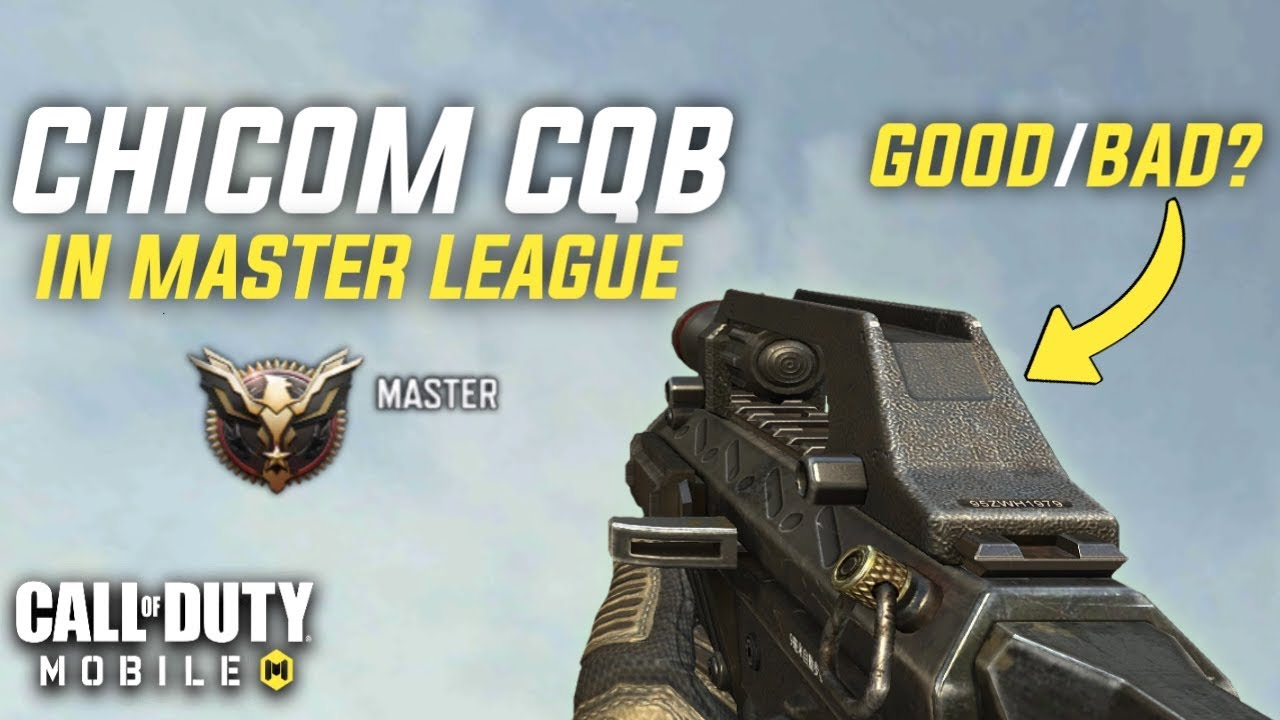Call Of Duty Mobile – Gameplay Chicom CQB sur Master League! [60FPS]