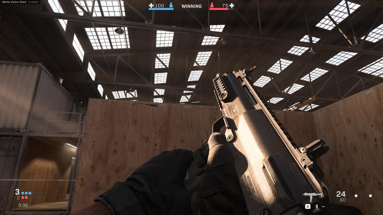 Call of Duty Modern Warfare Gunfight 1v1 Gameplay