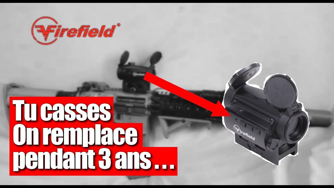FIREFIELD / Review Airsoft / articles garanties 3 ans