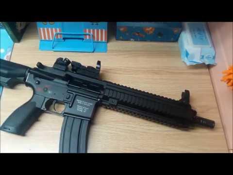 Critique du pistolet Airsoft m4 (Hk416d E&C 102) | H – RÉVISIONS ✓