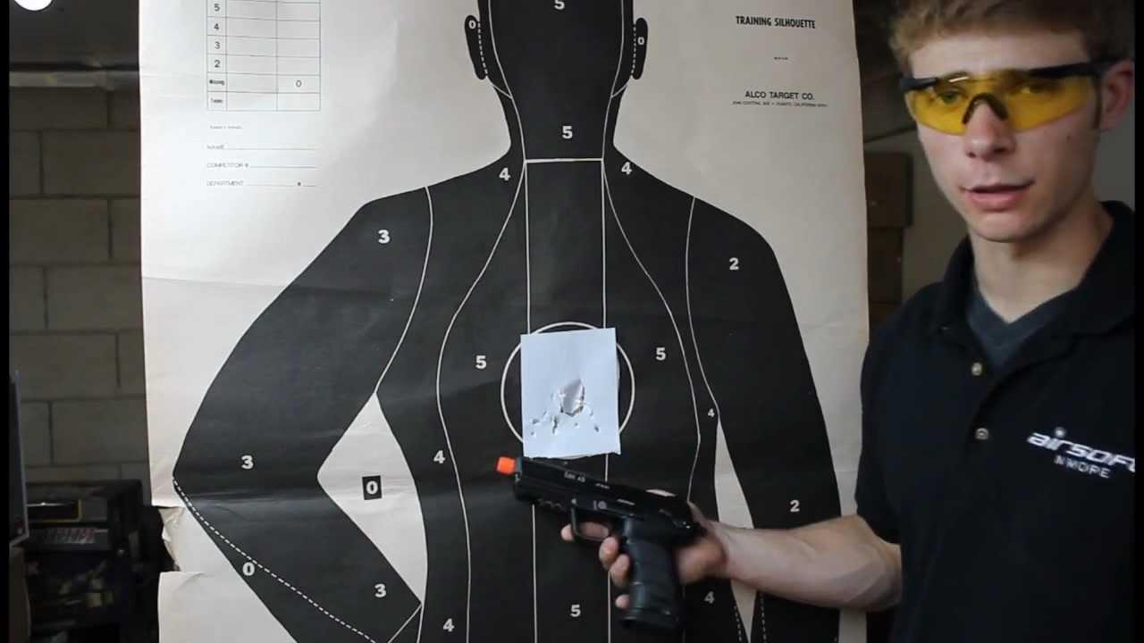 Critique du pistolet à gaz KWA Heckler et Koch HK45 – Airsoft N Plus