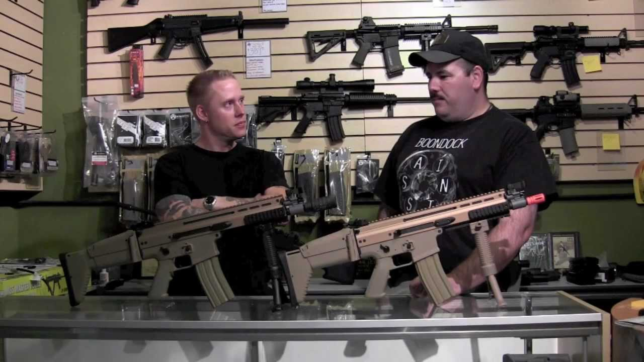 Precision Airsoft-Review of the G&G FN SCAR Licence officielle de FN Herstal.