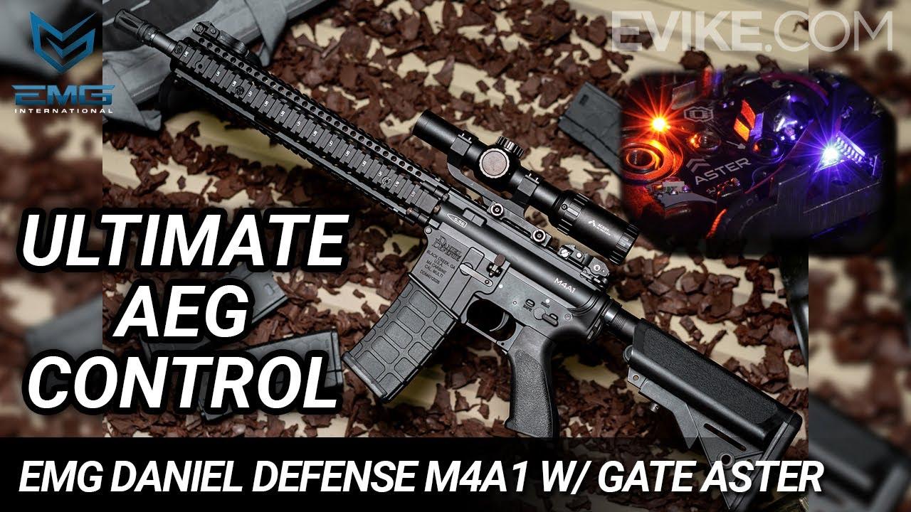Contrôle AEG ultime – EMG Daniel Defense M4A1 RIS II SOPMOD Block II w / GATE ASTER – Critique