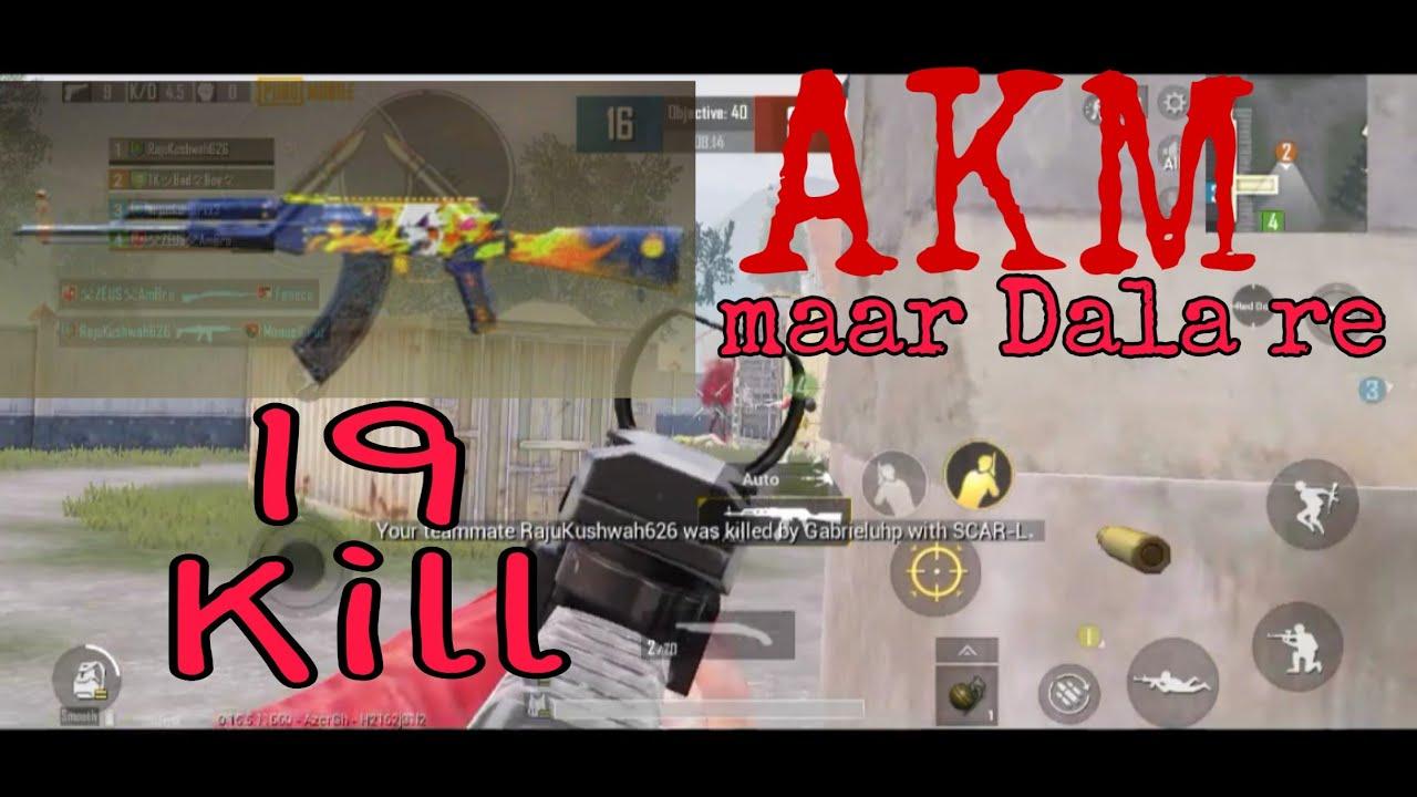 3 Finger19 kill power full gun (AKM). TDM