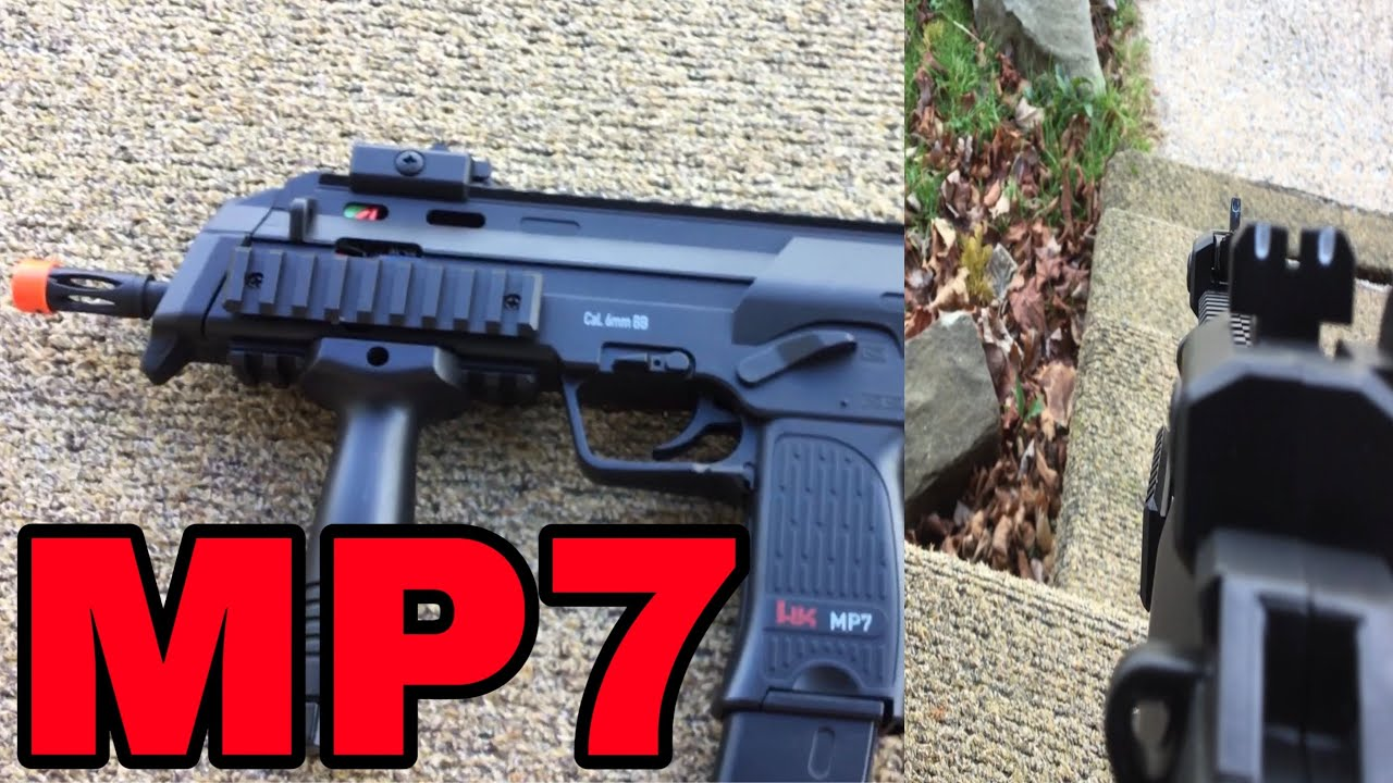 Test / Test MP7 Airsoft!