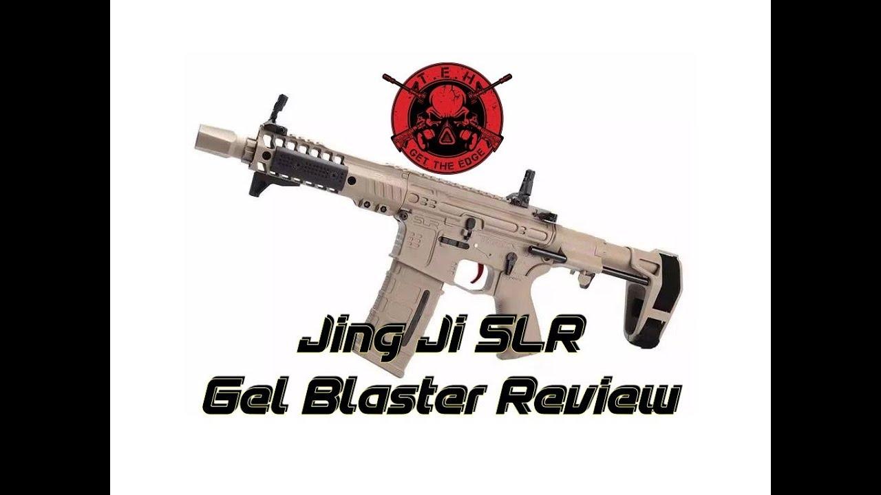 Critique du Jing Ji SLR Gel Blaster