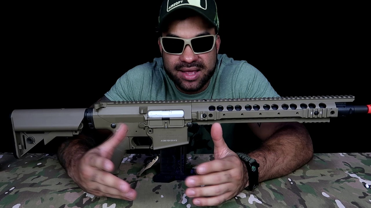 SR25 ARES | RESPECTER DMR !! * airsoft *