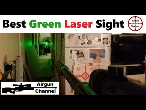 Vue du LASER VERT le plus brillant du monde – Site de pistolet laser pour fusil ou pistolet
