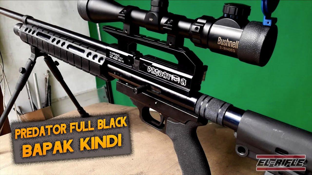 El Rifle Review – Fusil Predator noir complet noir personnalisé de PCP appartenant à M. Kindi