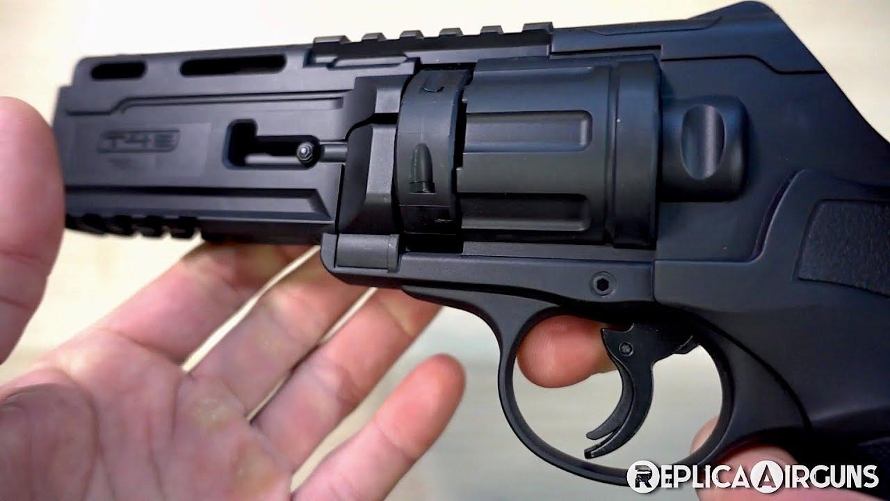 Revue de table de revolver de paintball Umarex T4E TR50 .50