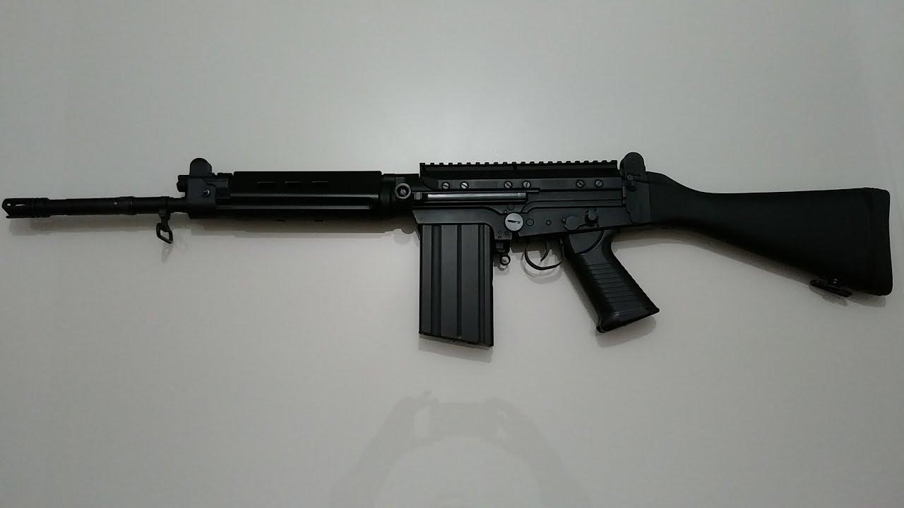 CARABINE AIRSOFT FN FAL LK58 JING GONG TRAVAUX