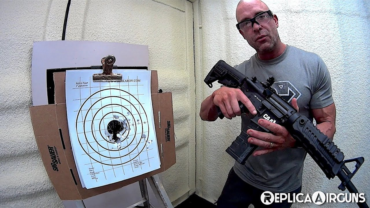 ASG CAA M4 Sportline AEG Airsoft Rifle Field Test Shooting Review
