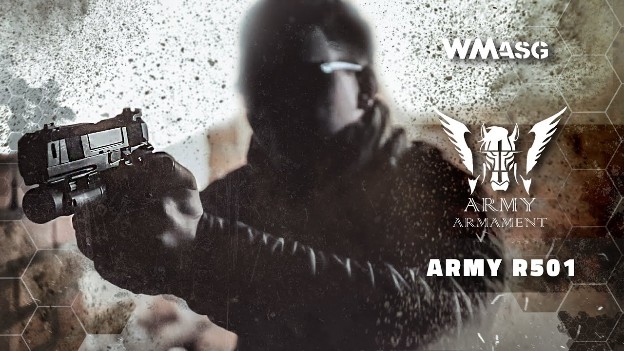 REVUE AIRSOFT: Army R501