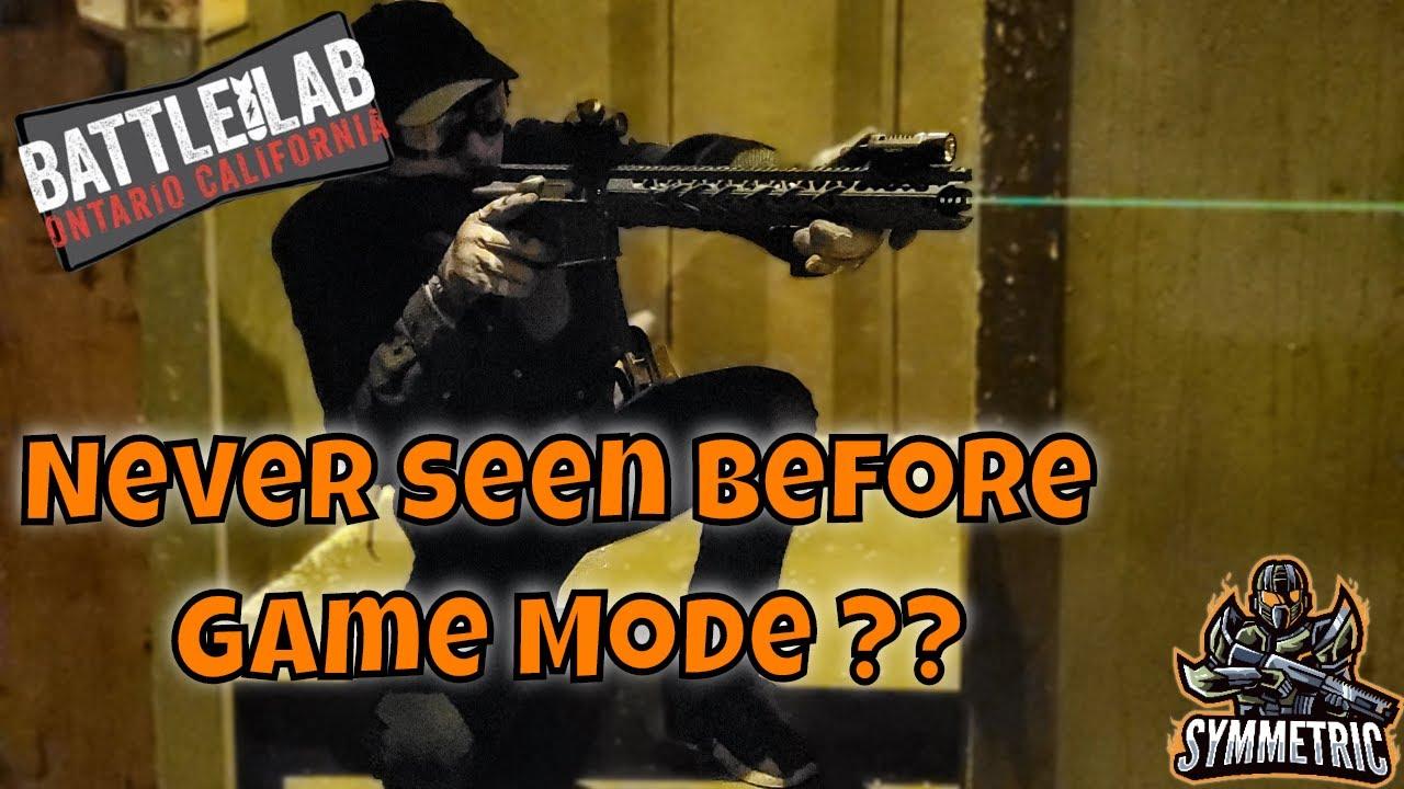 Nouveau mode de jeu Airsoft Domonation!?!   Battle Lab USA   Gameplay Airsoft Low Light CQB