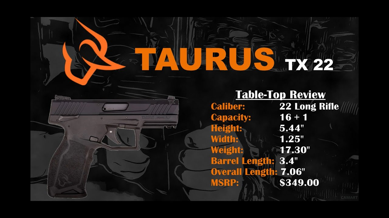 Taurus TX 22 Review