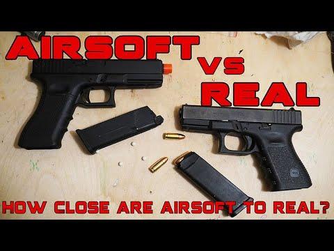 Quelle est la précision des répliques Airsoft par rapport aux vrais pistolets?