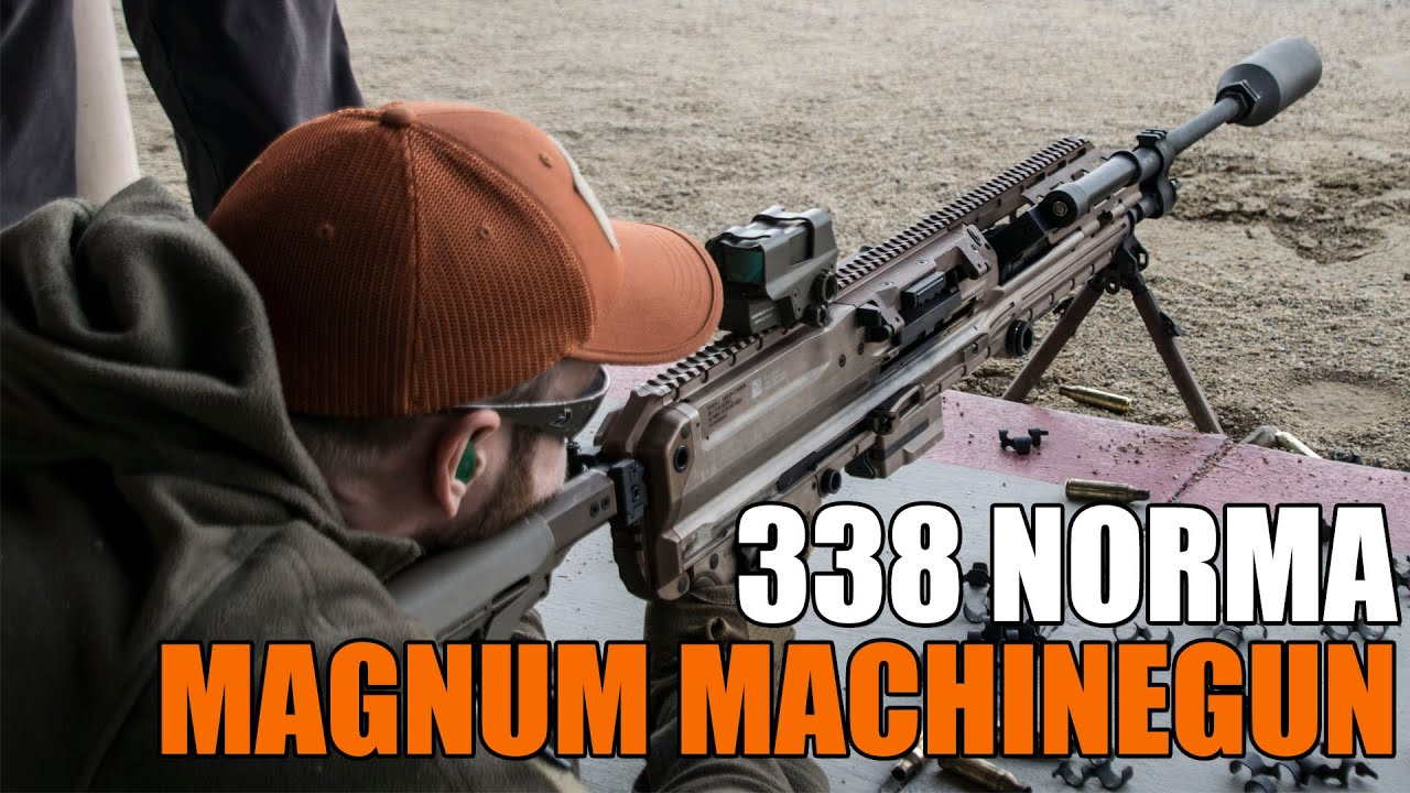 Nouvelle mitrailleuse 338 MG Norma de SIG pour USSOCOM (SIG Range Day – SHOT Show 2020)