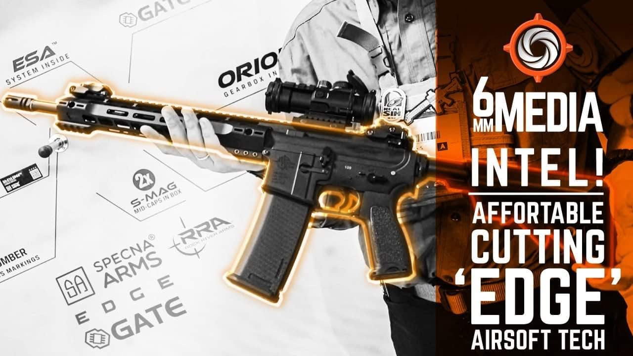 "[SPECNA ARMS] coupe affortable ""EDGE"" technologie airsoft."