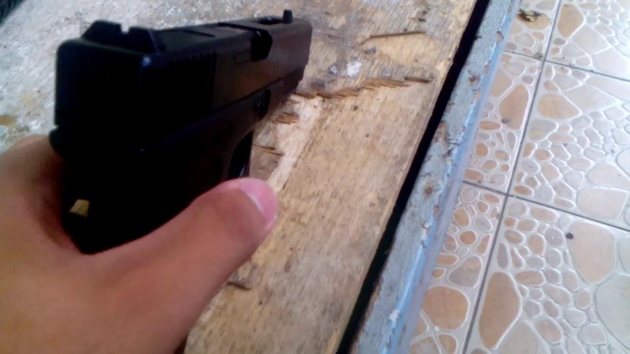 Pistolet à plomb Pellet Glock 18 examen + tir
