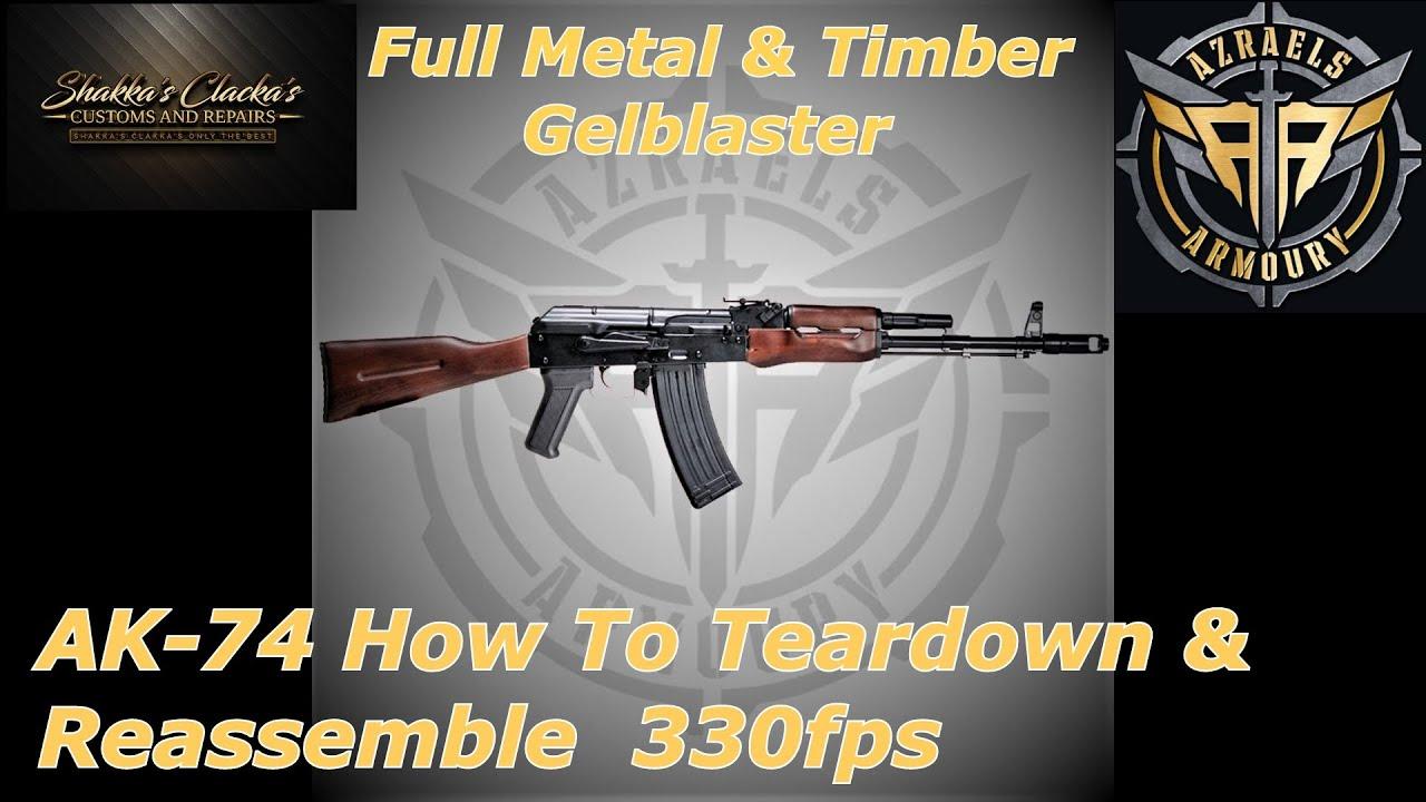 AK-74 Comment démonter et remonter et revoir la boîte de vitesses