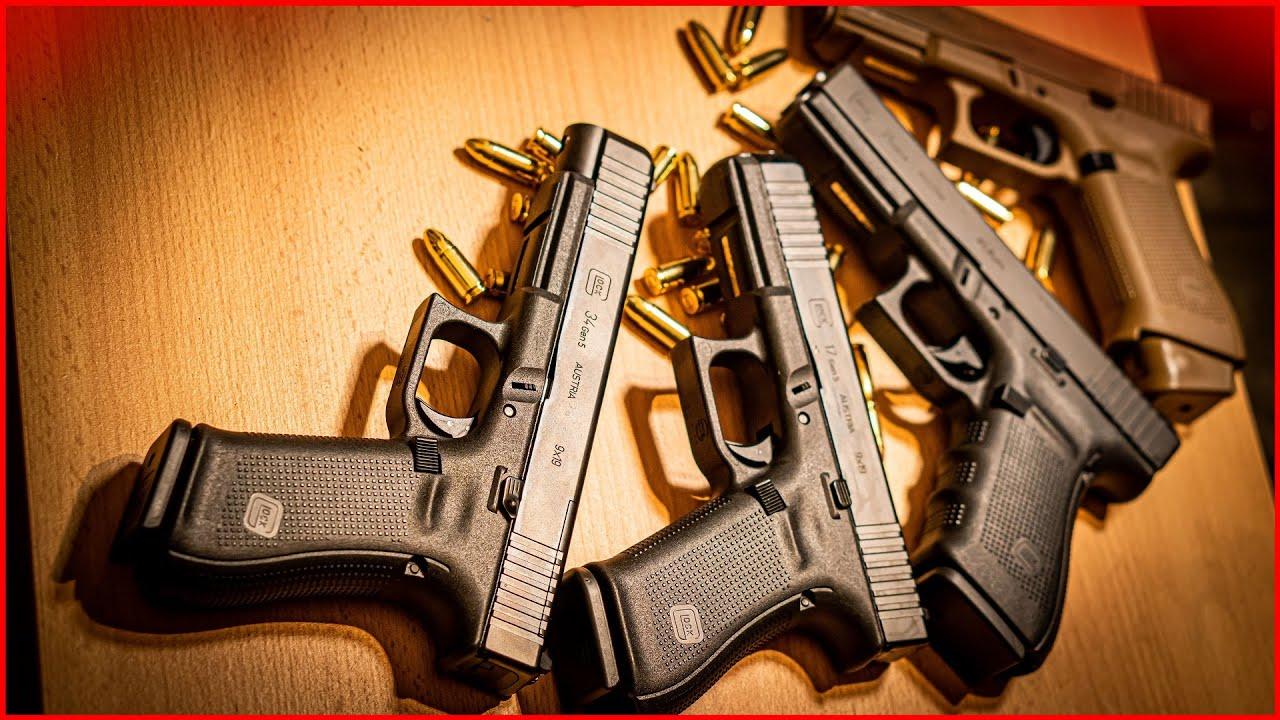 Les meilleurs pistolets Glock en Allemagne AVEC surprise!