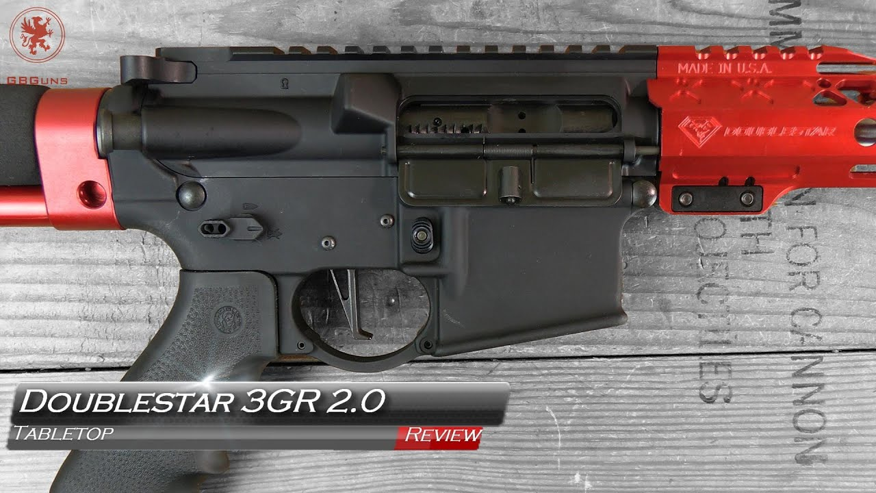 Revue de table et bande de terrain DoubleStar 3GR 2.0