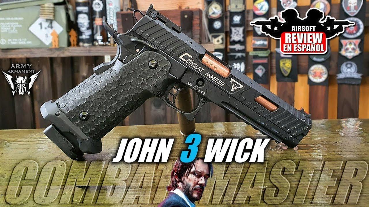 COMBAT MASTER TTI JOHN WICK 3 Armement militaire JW3   Revue Airsoft en espagnol