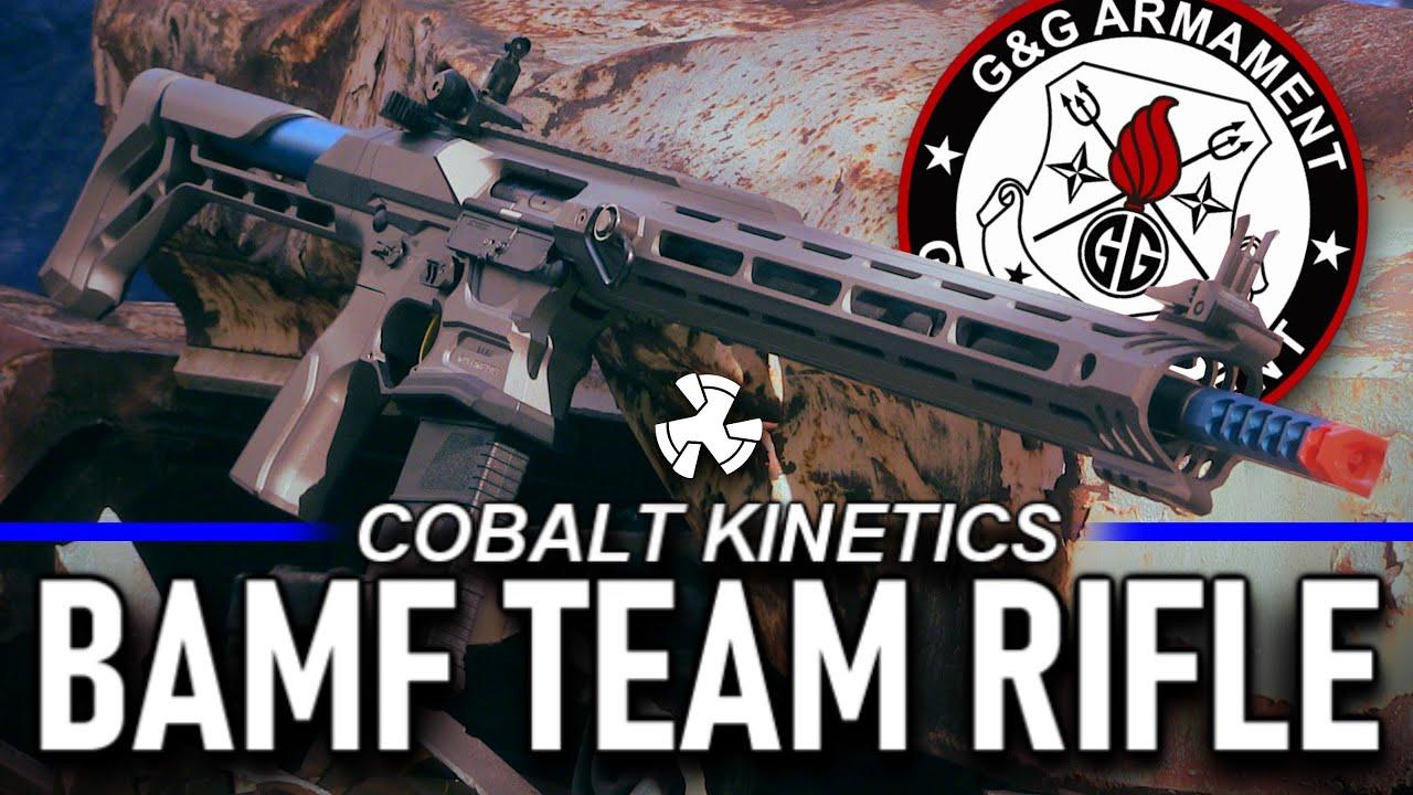 Le pistolet Airsoft de compétition à 550 $ – G&G Cobalt Kinetics BAMF Team Rifle Airsoft M4 Review