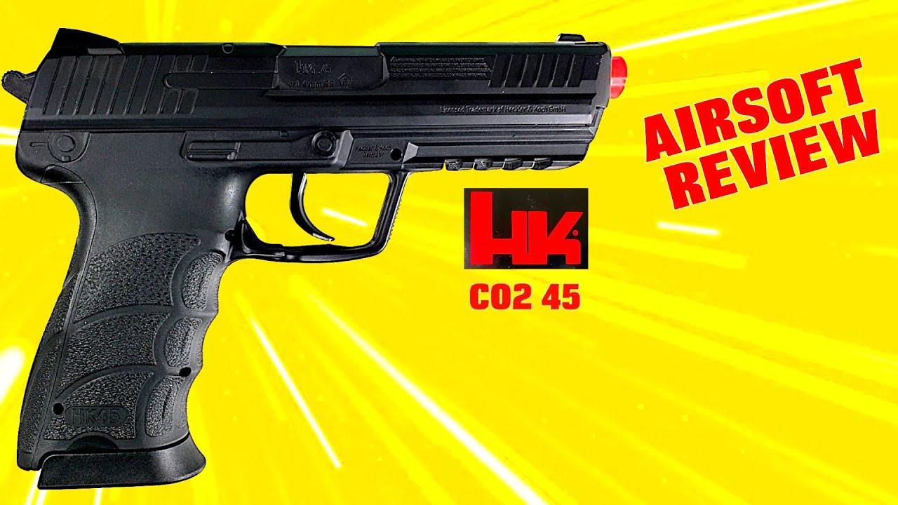 Critique Airsoft: Pistolet Airsoft HK 45