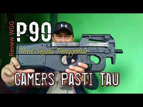 Déballage et révision P90 WGG. Blaster pistolet à eau électrique.