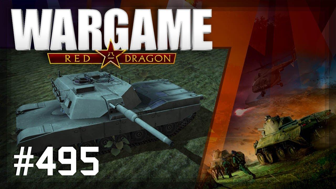 Wargame: Red Dragon # 495 – 1vs1 Classé contre NickDaMan | USA blindé | L'hiver nucléaire arrive