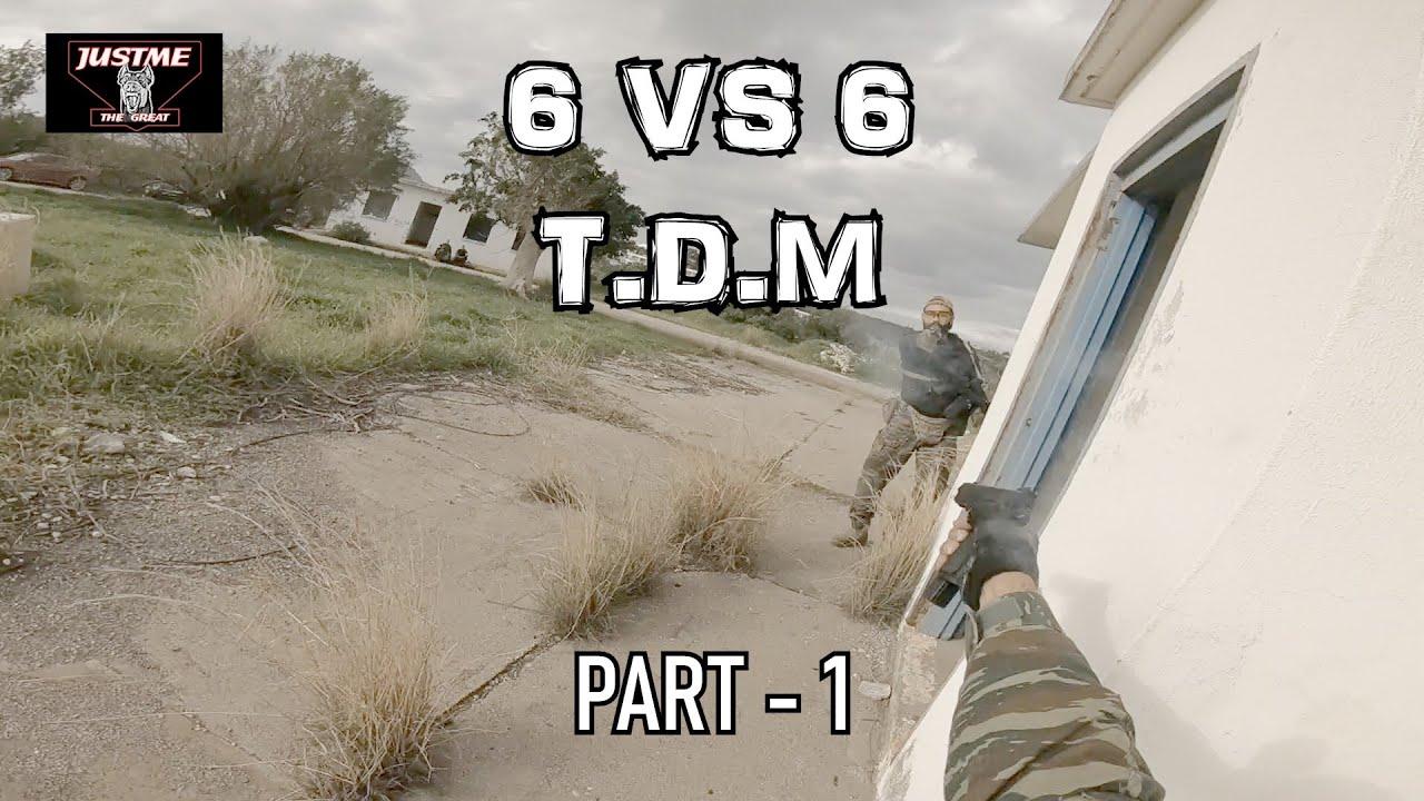 6 vs 6 LAST MAN STANDING PART 1
