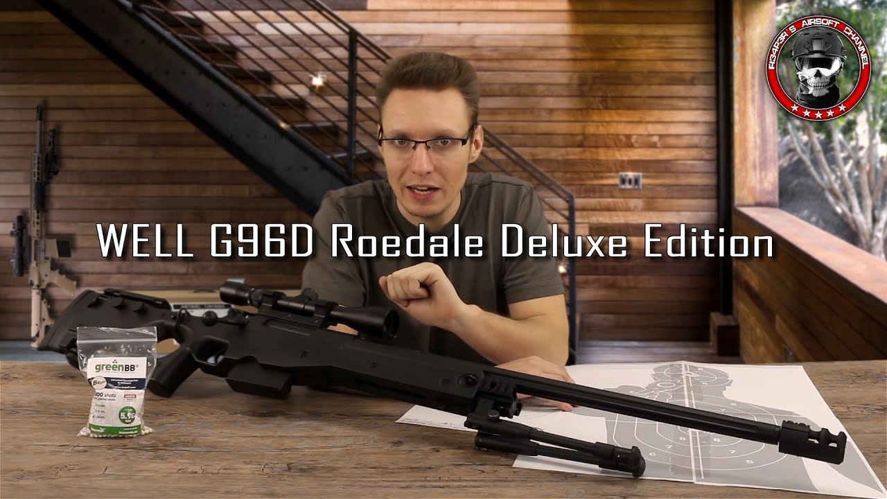 [Review] Eh bien G96D Roedale Deluxe Edition GAS / Co2 6mm Airsoft Deutsch / German