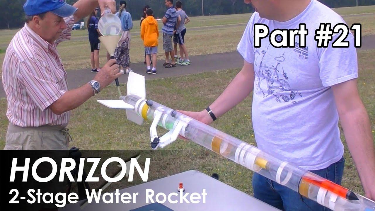Fusée à eau à 2 étages – Partie 21 – Expériences de chicane