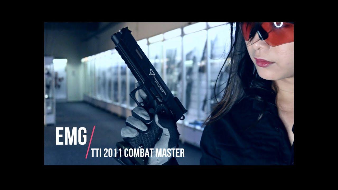 Nonocat Airsoft Minute Review – EMG STI Taran Tactical 2011 Combat Master