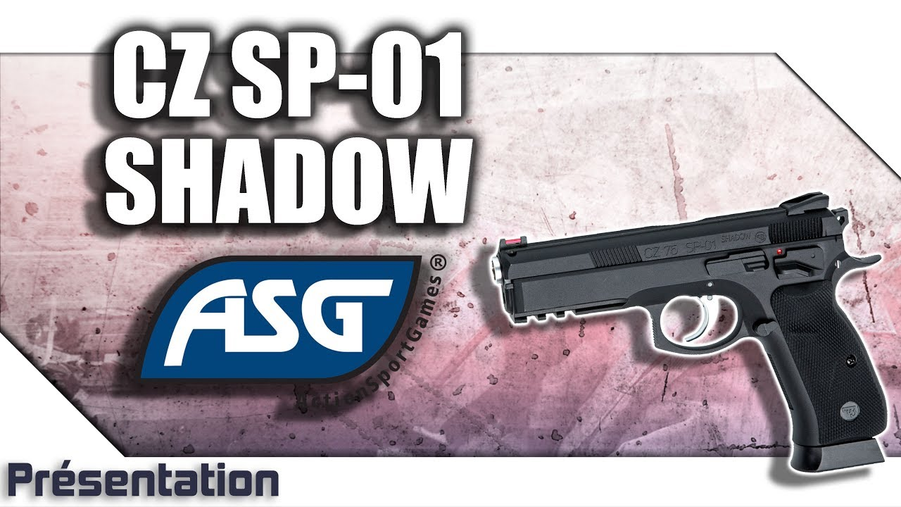 [CZ 75 SP-01 Shadow – ASG] Présentation | Review | Airsoft FR – EN subs – Gun Evasion
