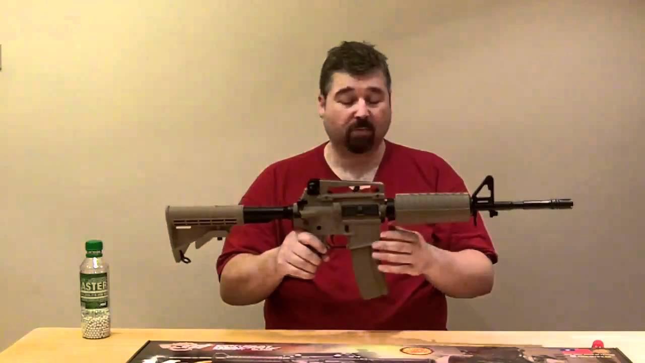 Revue du fusil airsoft G&G CM4