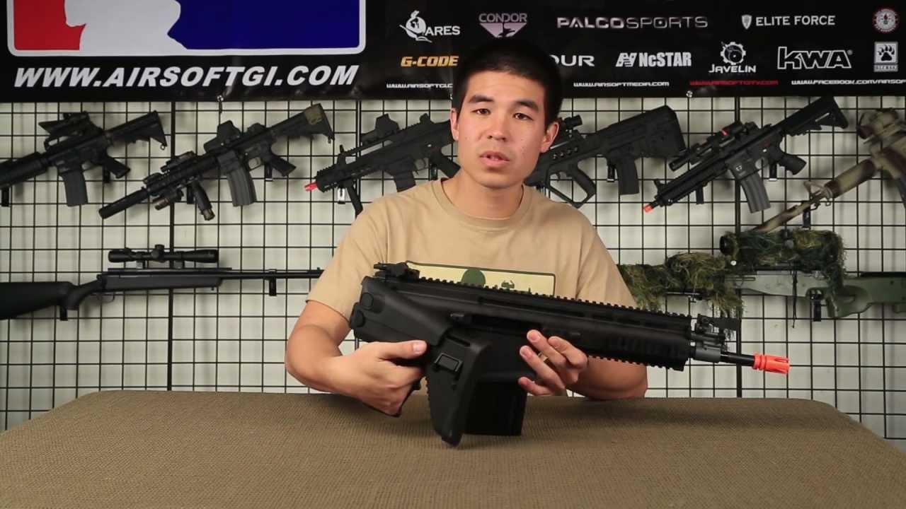 Airsoft GI – VFC Full Metal Scar-H MK17 Gun Review