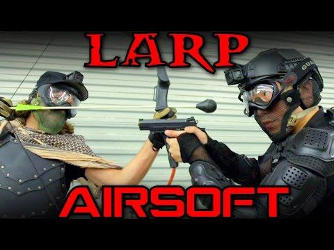 AIRSOFT vs LARP