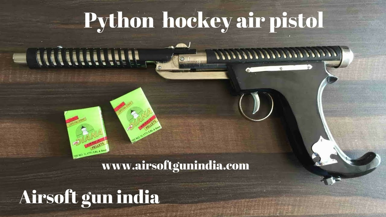 Pistolet à air comprimé Python Hockey   Inde pistolet à air   Airsoft gun india