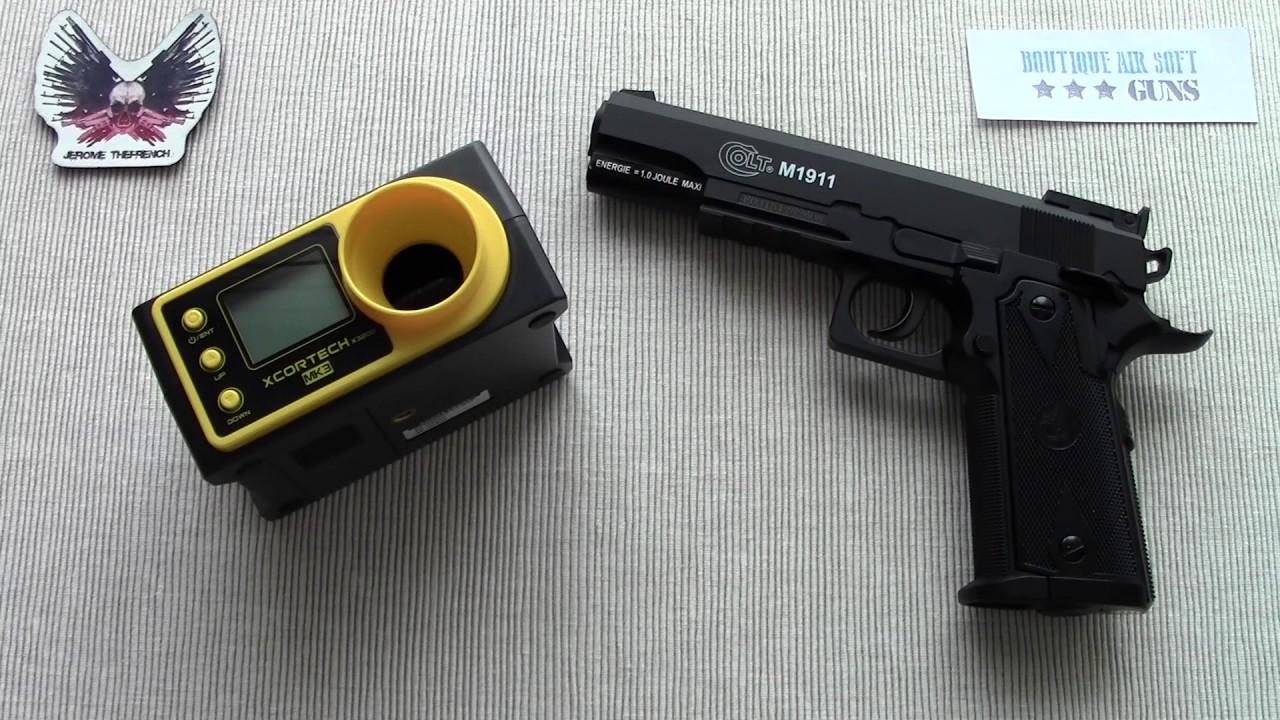 Présentation du Colt M1911 CO², disponible chez BASG.