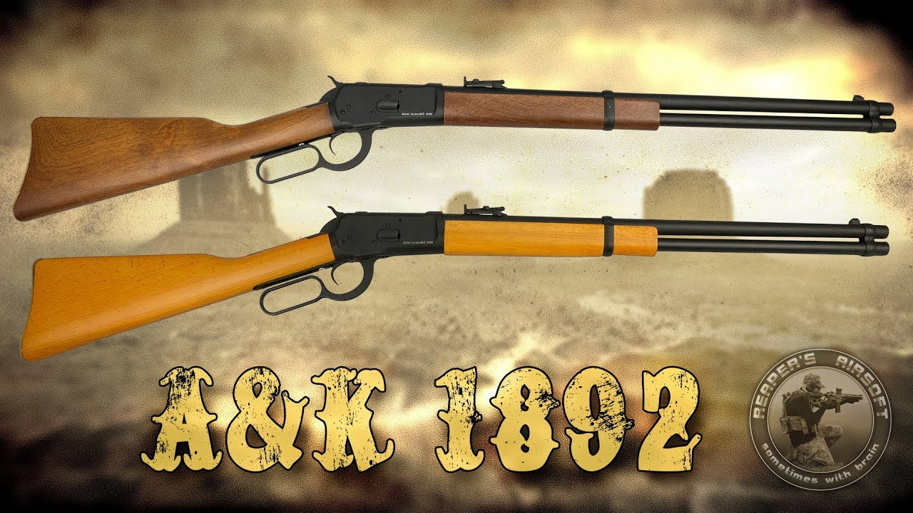 [Review] A&K Winchester 1892 NBB avec démontage / montage – 6 mm Airsoft / Softair – 4K UHD