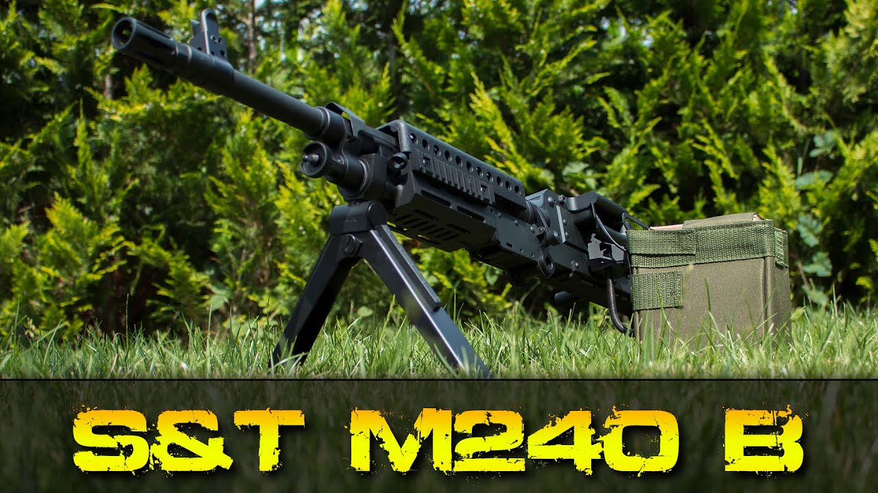 [Review] S&T Armament M240 – 6mm Airsoft Allemand